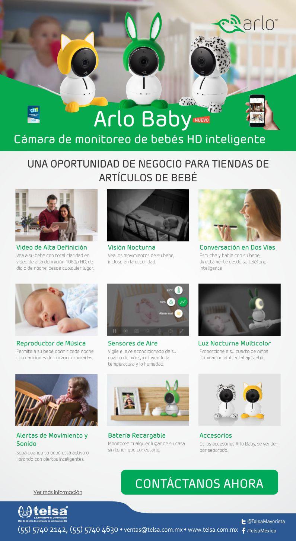 Cámaras de monitoreo de bebés Arlo Baby
