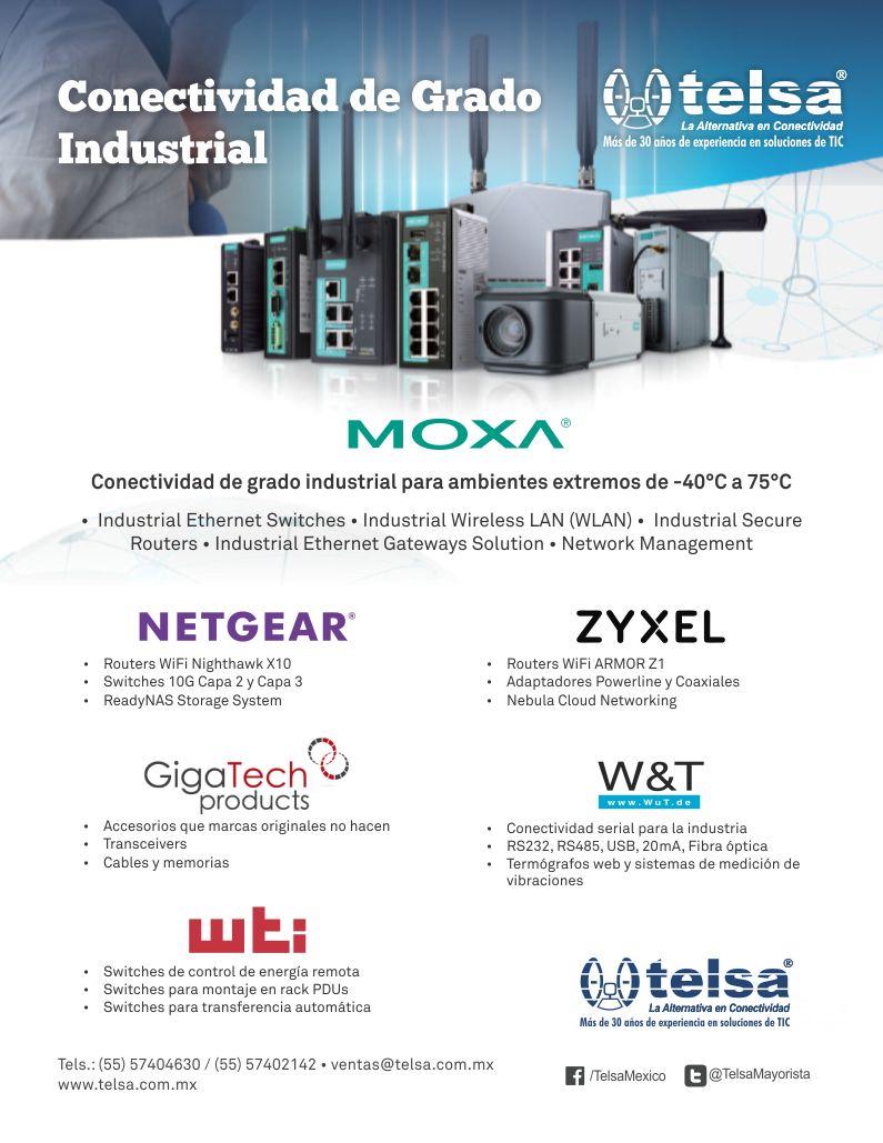 Conectividad de grado industrial