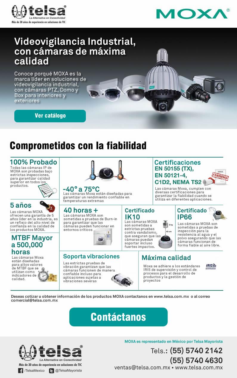 Videovigilancia Industrial, con cámaras de máxima calidad