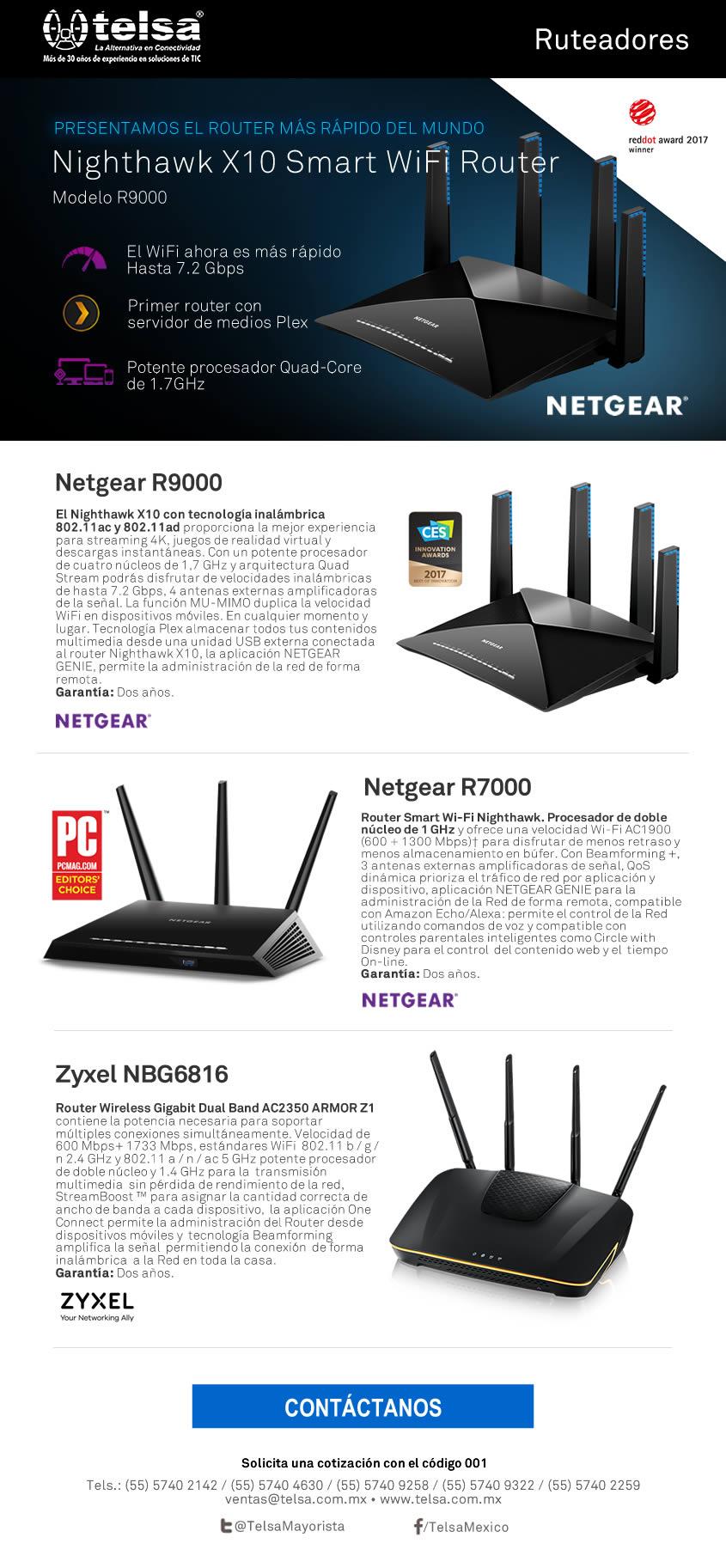 Presentamos el router más rápido del mundo