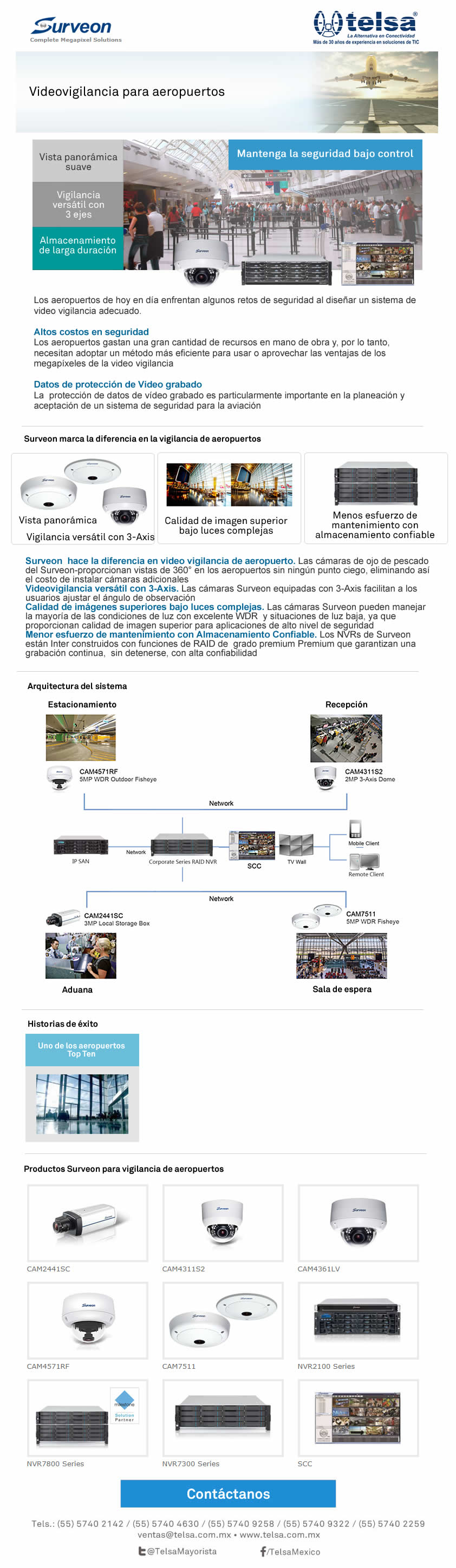 Surveon - Vigilancia para aeropuertos