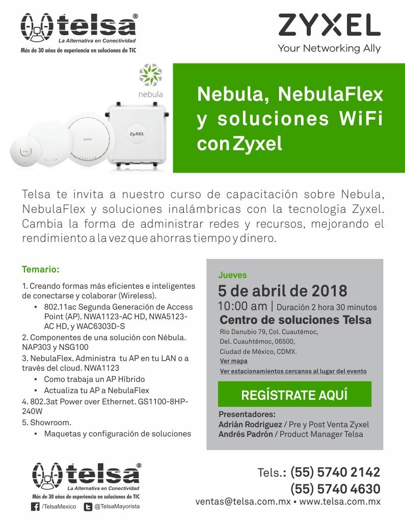 Capacítate sobre Nebula y NebulaFlex, ¡Regístrate!